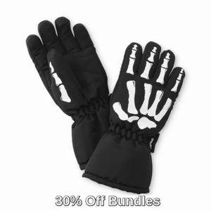 3M Thinsulate Boys Ski Gloves, Skeleton